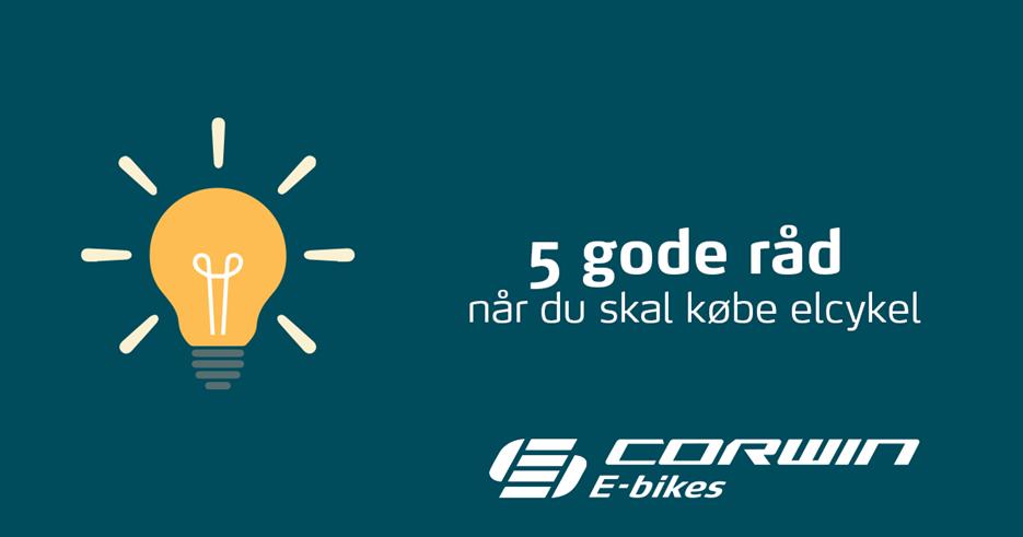 5 gode råd til når du skal købe elcykel